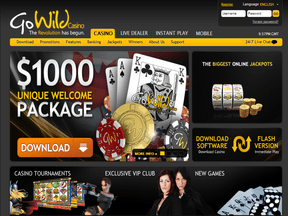 Go Wild Mobile Casino No Deposit Bonus